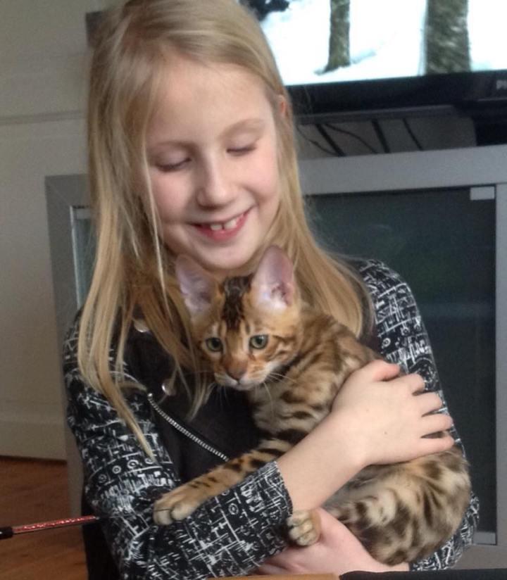 Sofie og Hakeem-4 months